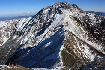 06阿弥陀岳から赤岳.JPG